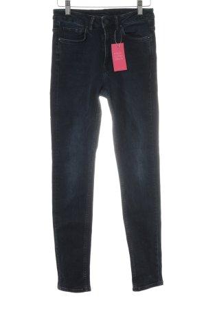 All Saints Skinny Jeans schwarz Street-Fashion-Look
