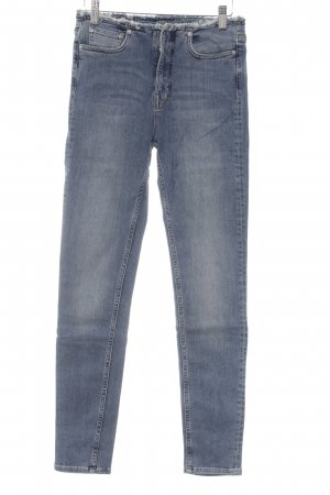 All Saints Skinny Jeans kornblumenblau Casual-Look