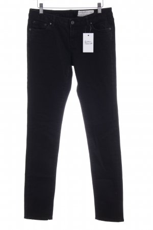All Saints Skinny Jeans schwarz Casual-Look