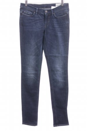 All Saints Slim jeans blauw casual uitstraling