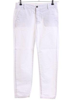 All Saints Jeans slim blanc style décontracté