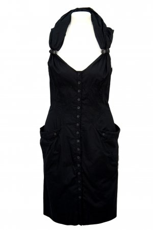 All Saints Spitalfields Kleid in Schwarz