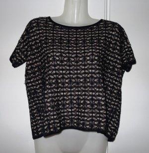 All Saints Spitalfields UK Shirt Cropshirt Gr. S (36/38) Blogger Avantgarde