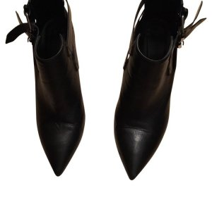 All Saints Stivaletto cut out nero Pelle