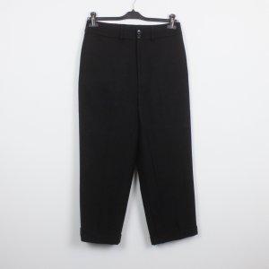 All Saints Pantalon en jersey noir laine