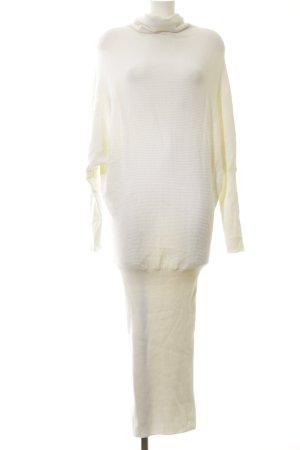 All Saints Robe en maille tricotées blanc cassé élégant