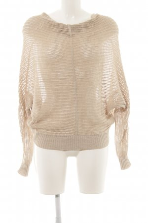 All Saints Strickpullover beige schlichter Stil