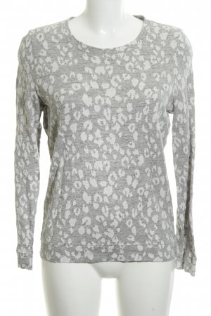 All Saints Sweat Shirt light grey-white animal pattern casual look