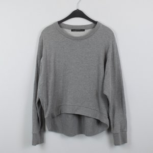 All Saints Sweatshirt Gr. L grau oversized (18/10/284/R/E)