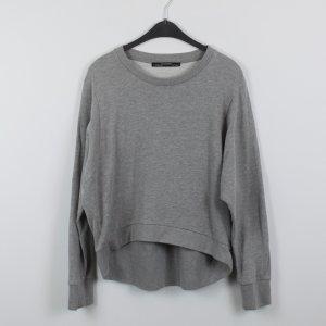 All Saints Sweatshirt gris coton