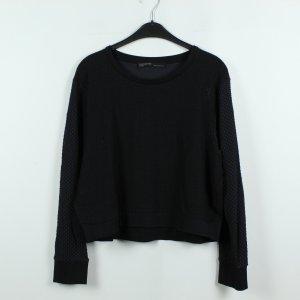 All Saints Sweatshirt noir-bleu foncé polyamide
