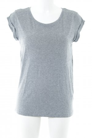 All Saints T-Shirt light grey flecked casual look