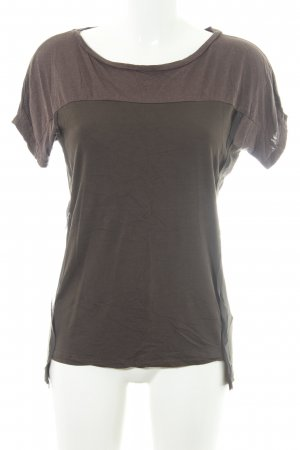 All Saints T-shirt verde oliva stile casual