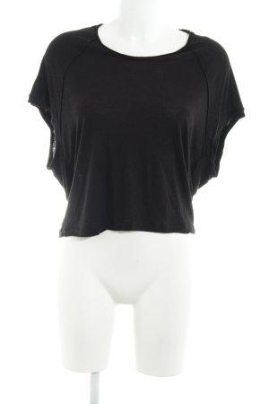 All Saints T-Shirt schwarz Casual-Look