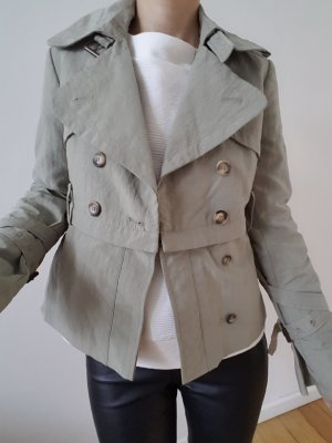 All Saints Trenchcoat Jacke XS S 34 36 Mantel Jäckchen Strickjacke Cardigan