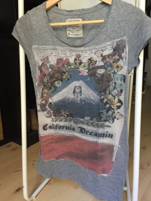 All saints Tshirt grau 36 Baumwolle