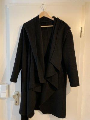 All Saints Abrigo de lana negro