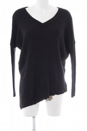 All Saints Wollpullover dunkelgrau Casual-Look