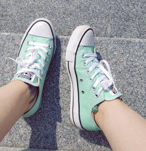 All Star Converse Chucks mint weiß Sneaker 37 original