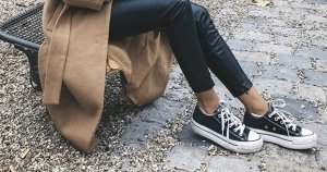 all star converse mit Plateau Sohle