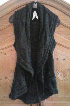 Alle Preise inkl. MwSt. Lange Strickweste von Summum Woman, Gr. XL mit Alpaka Anteil