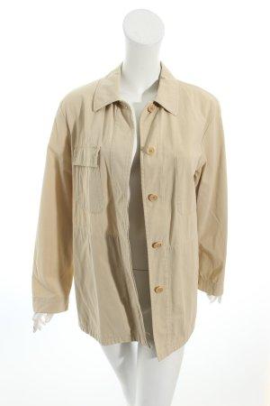 allegri Lange Jacke hellbeige schlichter Stil