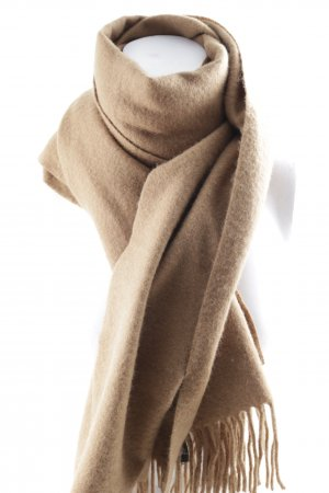 Allegri Woolen Scarf light brown simple style