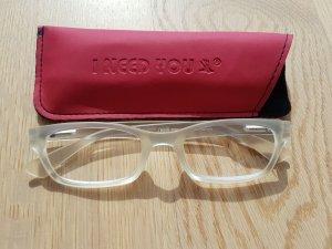 Glasses white-light grey
