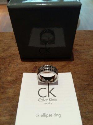 Allerletzte Reduzierung: Calvin Klein: Ring silber m. Schönheitsfehler - günstig!
