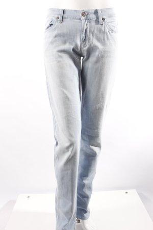 **alles muss raus, schaut rein** 7 For All Mankind Jeans hellblau 29