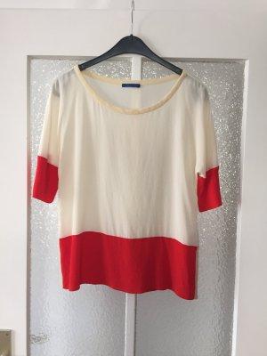 **alles muss raus, schaut rein** JOOP! colorblocking Bluse Shirt 36 Seide