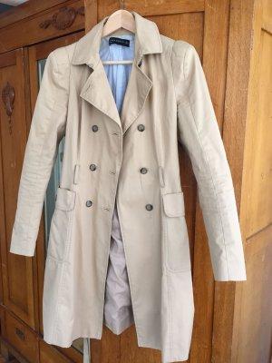 ALLES MUSS WEG - Zara Woman Trenchcoat Beige Gr. M (38/40) (Gereignigt)