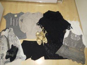 Zara Camisa gris-beige claro