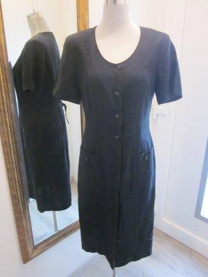 Vestido de camuflaje negro Lino