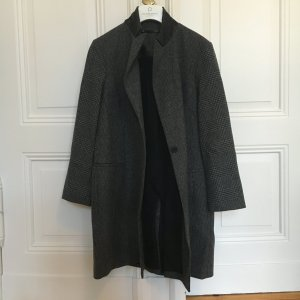 AllSaints Aldwych Tula Coat, grau kariert, Grösse 42