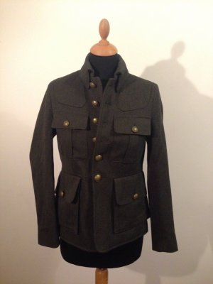Allsaints All Saints italian made in italy Brit Chic London Military gefüttert