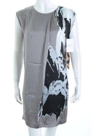 AllSaints Blusenkleid abstraktes Muster Eleganz-Look