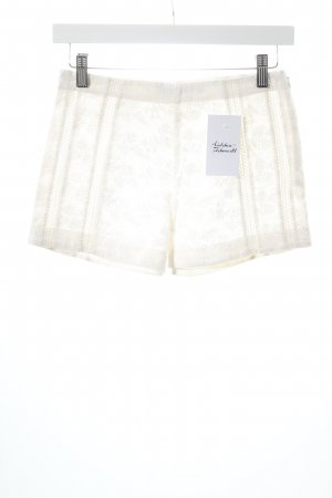 AllSaints Hot Pants weiß Boho-Look