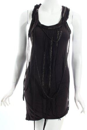 AllSaints Jerseykleid schwarz Eleganz-Look