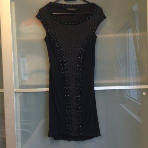 AllSaints Kleid mit Seideneinsätzen