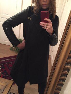 AllSaints Mantel Milla Lea in schwarz Gr. 36 NEU!!!
