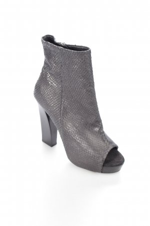 AllSaints Peep Toe laarsjes zwart extravagante stijl