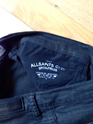 All Saints Vaquero negro-gris oscuro