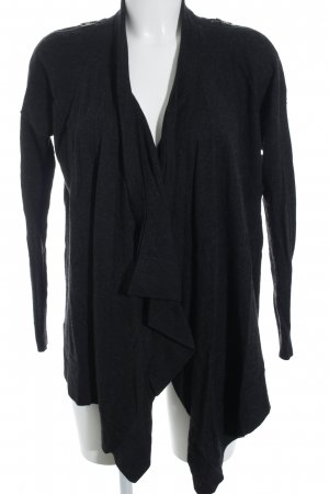 AllSaints Strick Cardigan anthrazit Kuschel-Optik