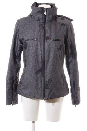 Allsport Winter Jacket light grey-black flecked casual look