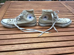 Allstar Chucks High Beige Converse