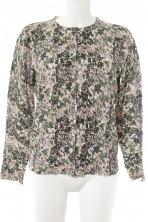 Allude Cardigan floral pattern casual look