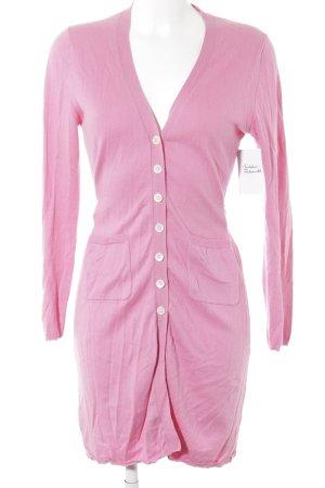 Allude Cardigan rosa stile classico