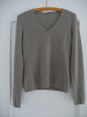 Allude Pull en cashemire gris clair cachemire