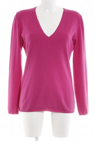 Allude Pull en cashemire rose style simple